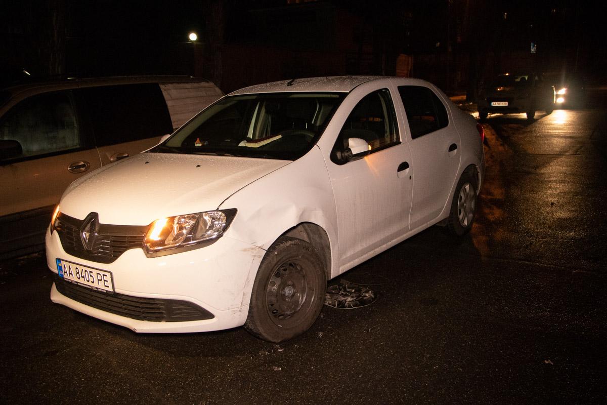 П'яна водійка легковика протаранила маршрутку -  - DTP 1 of 6
