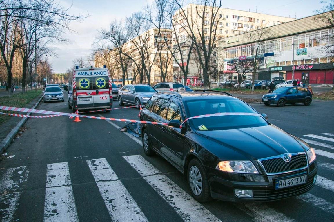 Здавав назад та задавив: у Києві на пішохідному переході загинула жінка -  - DTP 8 iz 10