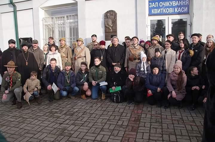 FB_IMG_1575189403679 У Боярці відкрили  барельєф на честь Івана Чмоли та українських воїнів-оборонців станції