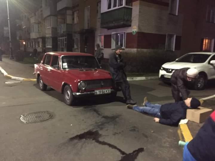 ДТП у Бучі: водій збив пішохода -  - FB IMG 1576169527245