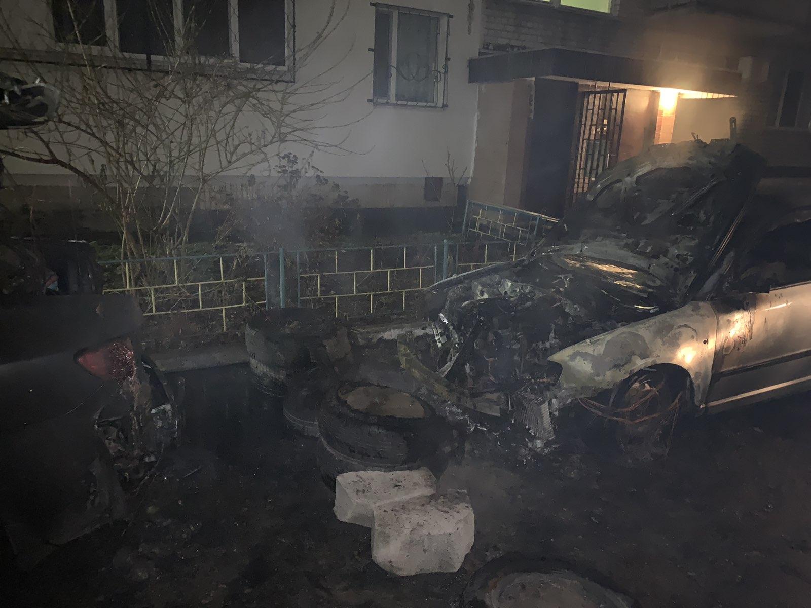 У Броварському районі ліквідовано загорання 2 –х легкових автомобілів -  - IMG 16815307b3bc8488d246e9998469d7c4 V