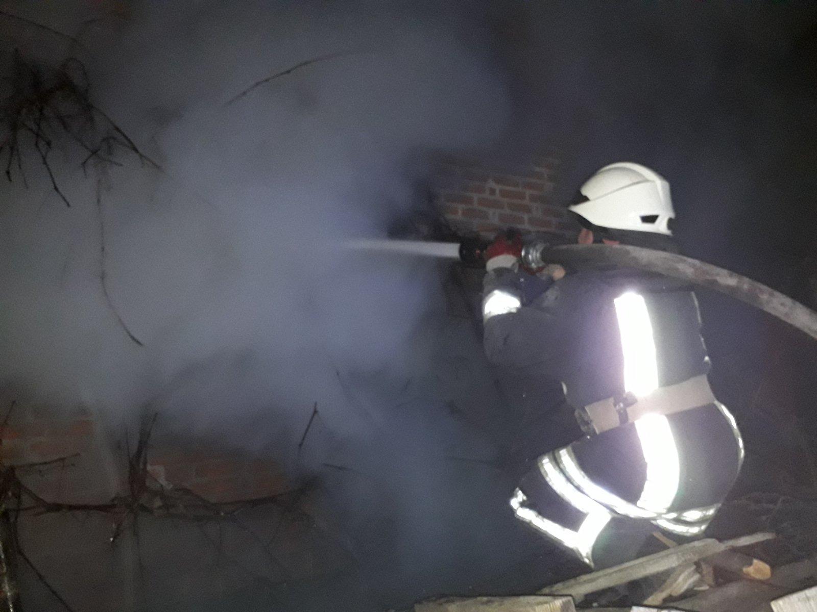 У Рокитнянському районі вогонь охопив житловий будинок -  - IMG 7498215c543b2fe58e663d2f8b02dae0 V1