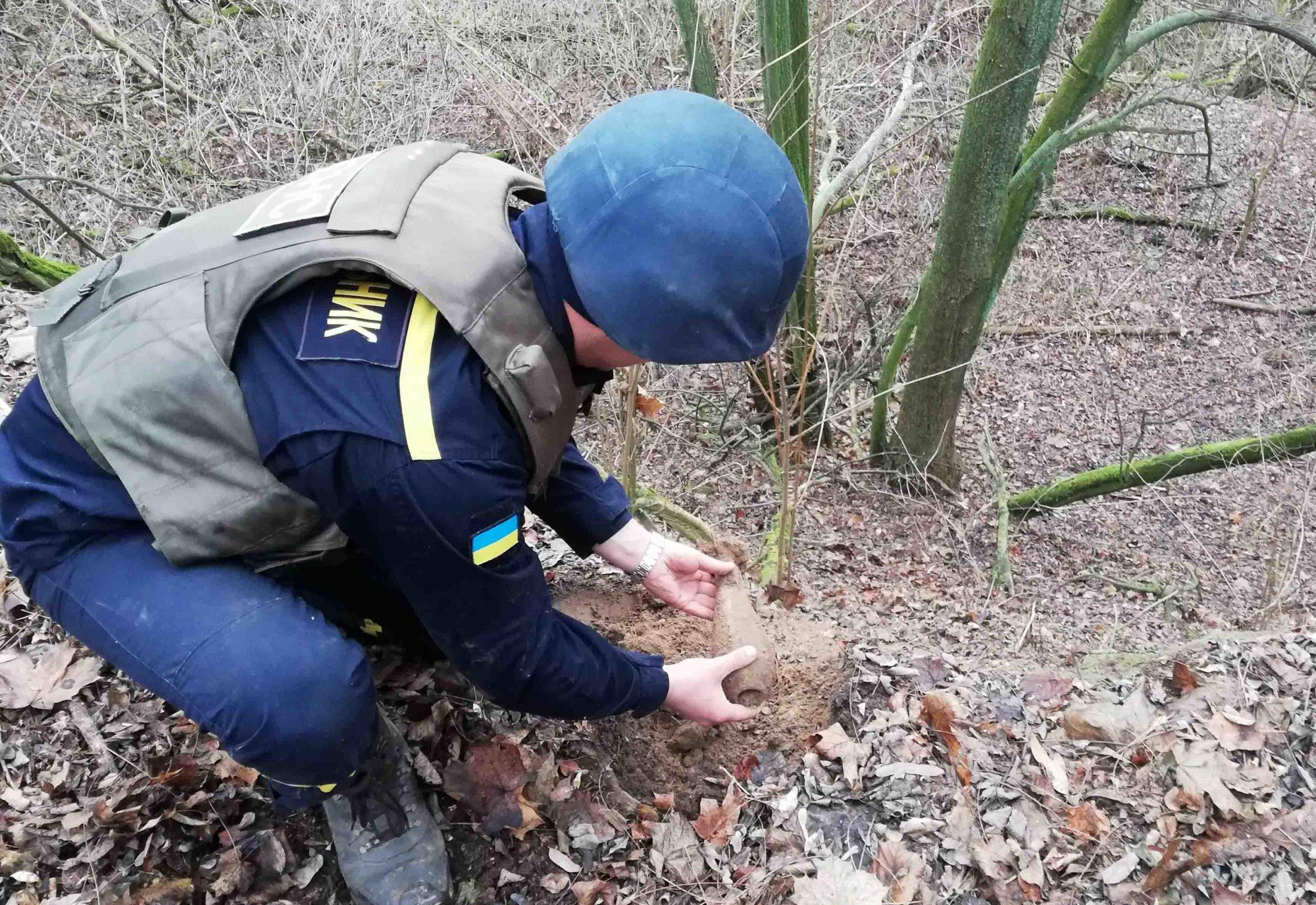 На Київщині знищено боєприпаси часів Другої світової війни -  - IMG 20191210 140555 2000x1375