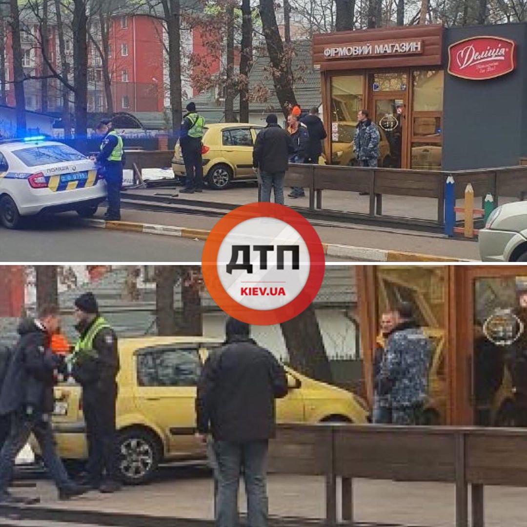 IMG_20191210_161735_932 ДТП в Ірпені: автомобіль в'їхав у магазин солодощів