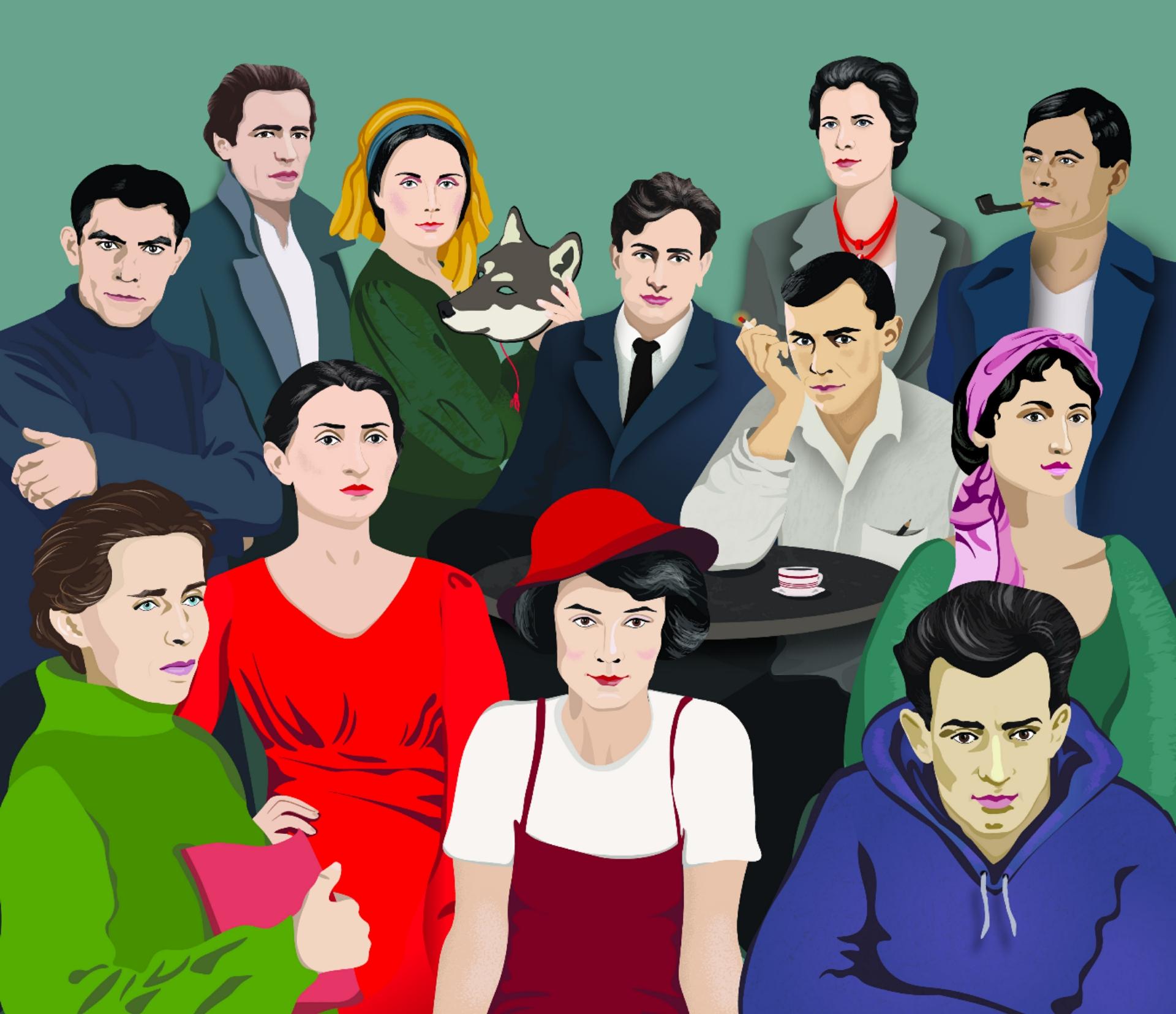 12 українських письменників-класиків прикрасили календар -  - IMG 20191212 110148