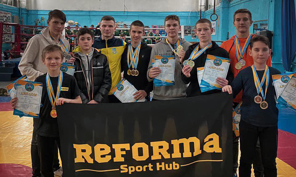 20 медалей у «Реформи»: успіх ірпінських кікбоксерів на Відкритому кубку Київщини