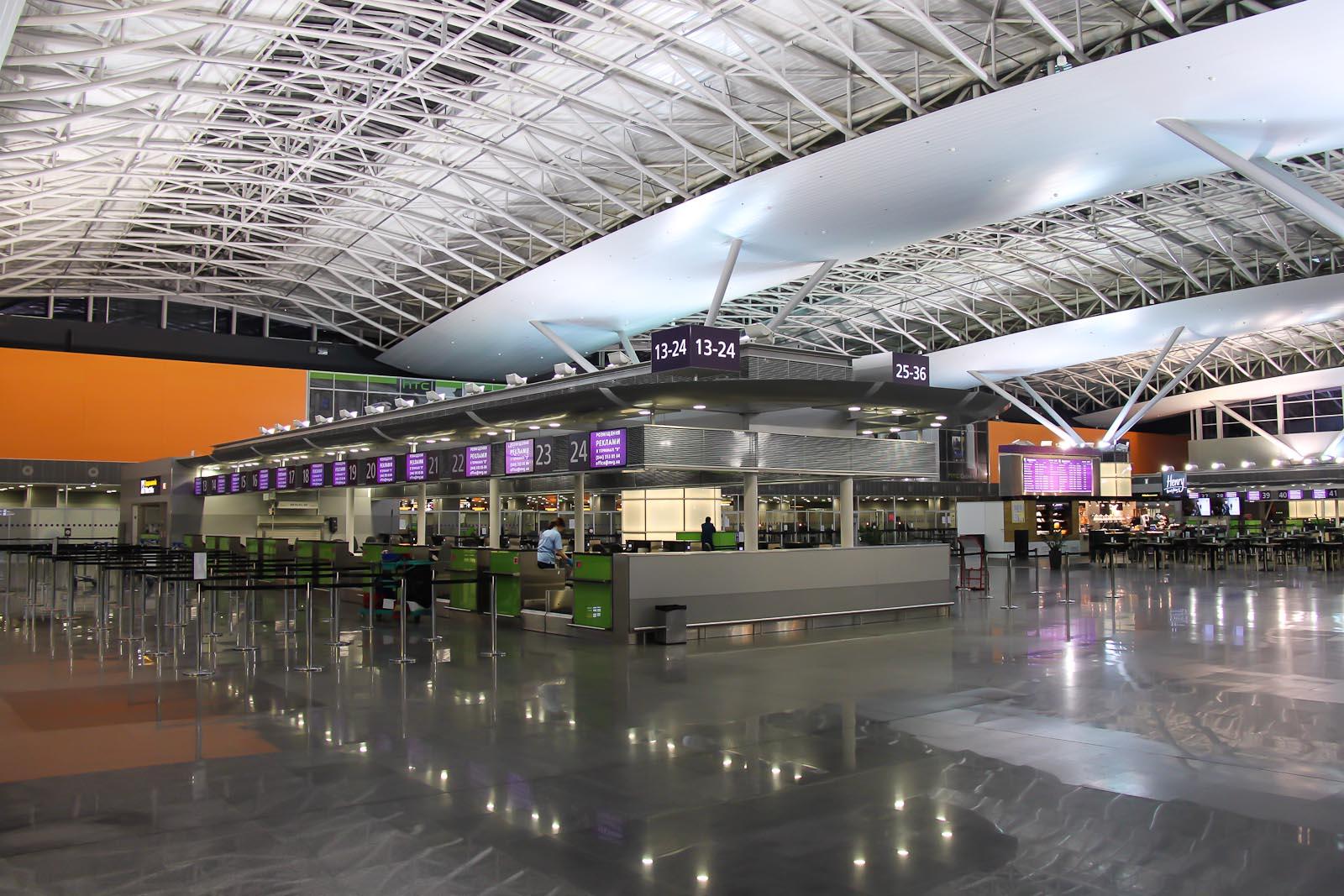 """В аеропорту """"Бориспіль"""" може з'явитися McDonald's -  - UIA Kiev Sochi 23"""