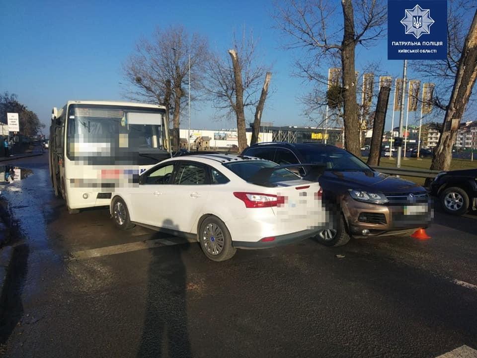 Києво-Святошинський район: три ДТП за добу -  - chabanydtp