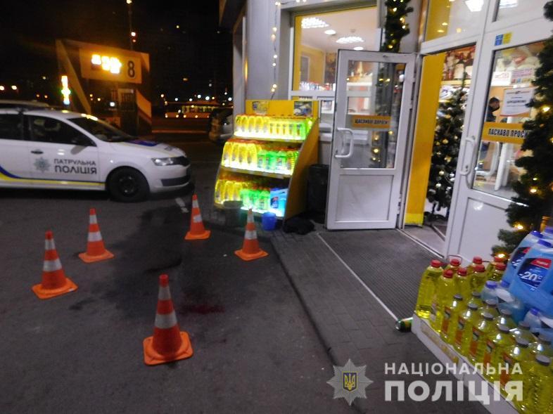 Грабіж на АЗС у Києві: затримали групу неповнолітніх -  - desnamisze