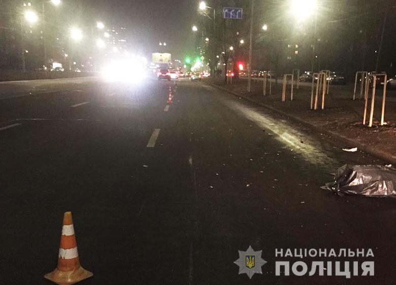 Подолати шість смуг: смертельна мото ДТП у Києві -  - dtp1122