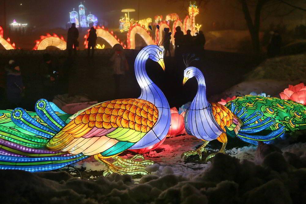 Дракони і не тільки: Співоче поле прикрасять персонажі китайських легенд -  - fonary08