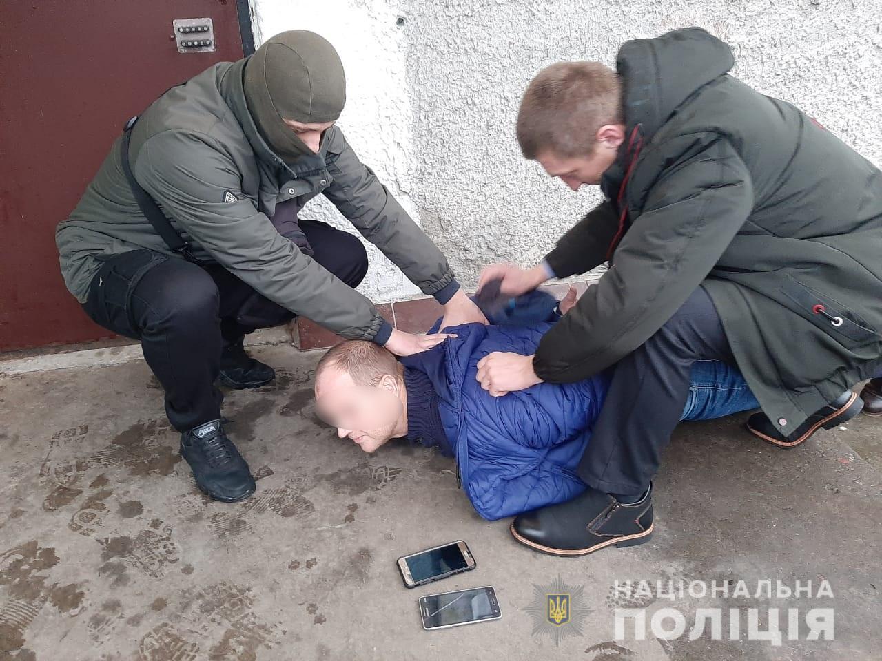 """Затримали кримінального злодія з Кагарлика на прізвисько """"Лощ"""", який був у розшуку упродовж двох років -  - kagarlykzlodyaij1"""