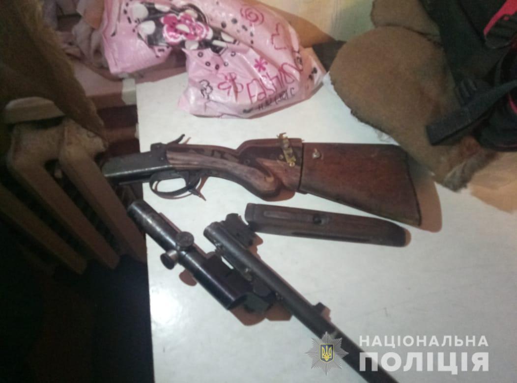 У зоні ЧАЕС поліцейські вилучили в лісника мисливську зброю -  - lisnykchaes1