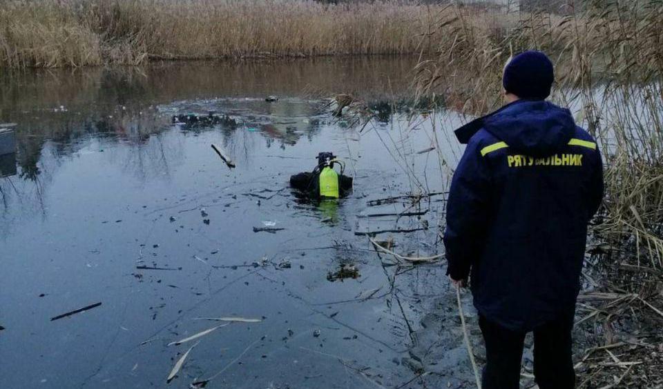 У Вишгородському районі двоє чоловіків загинули провалившись під кригу -  - photo 2019 12 14 17 01 28 2
