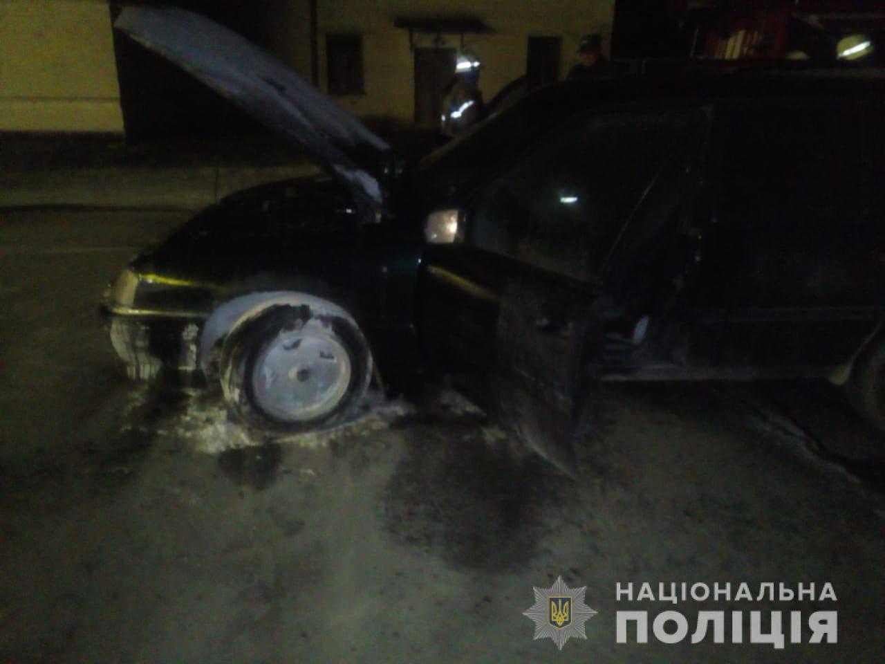 rokytnevogon На Київщині автомобіль спалахнув після заправки