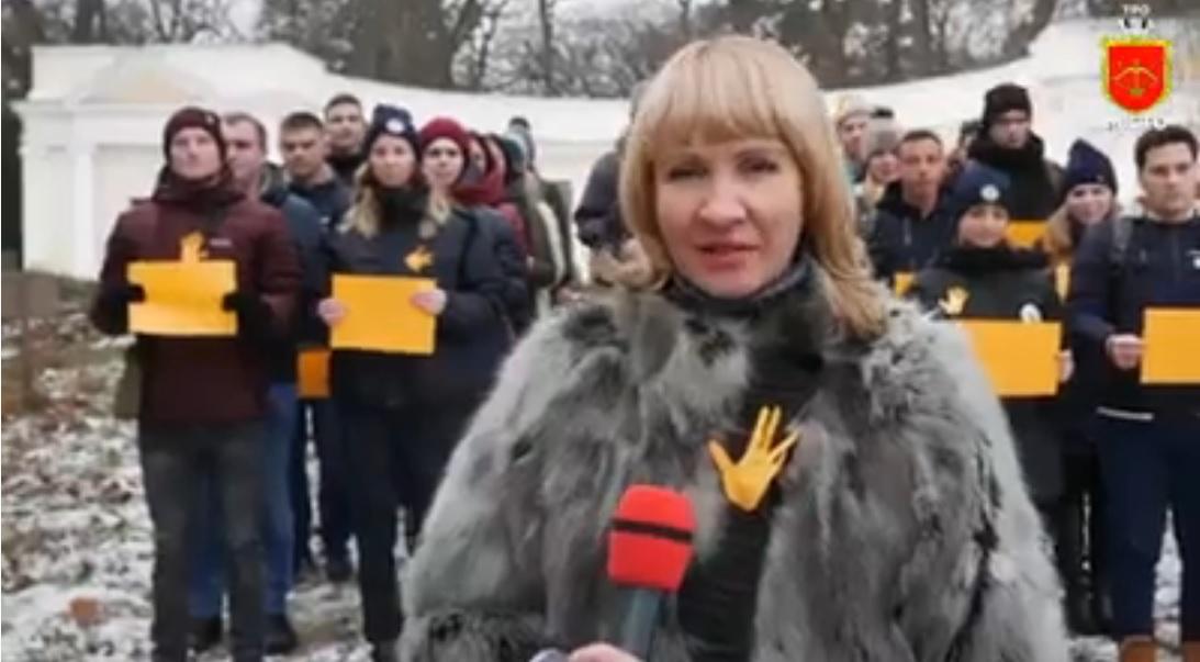 У Білій Церкві організували флешмоб «Скажи НІ насильству!» (ВІДЕО) - флешмоб, поліція Київщини - roror