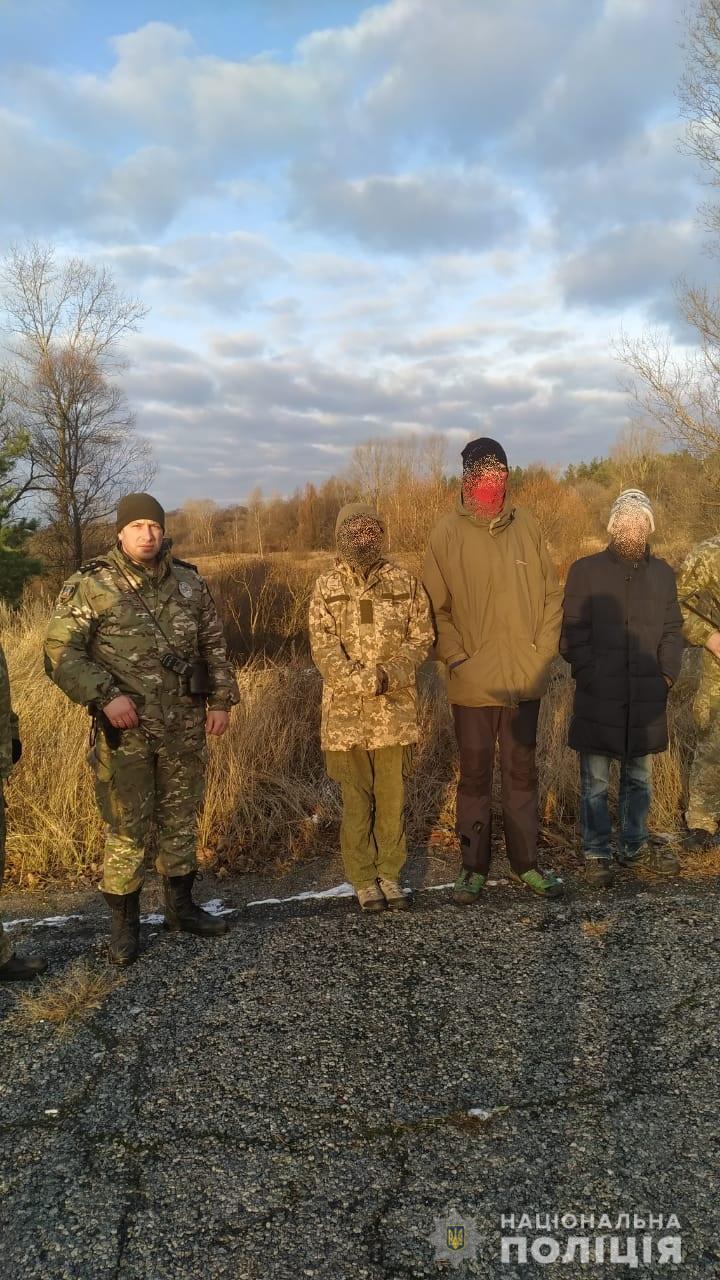 s2 Чергові групи порушників виявили в зоні відчуження Чорнобильської АЕС