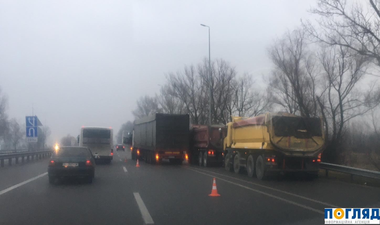 6 ДТП за один день на Васильківщині – є загиблий