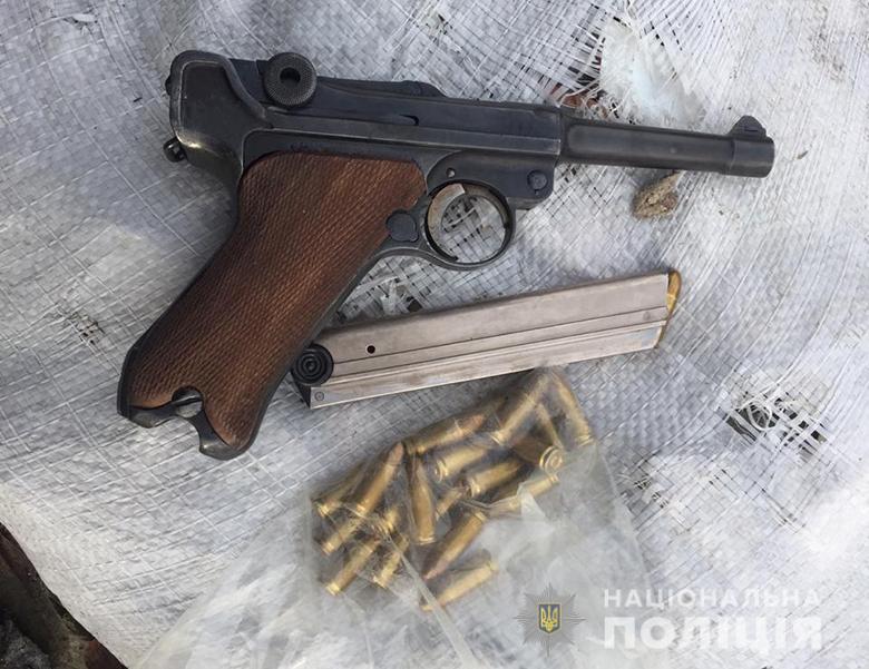 """""""Вальтер"""",""""Парабелум"""" і """"ТТ"""": у киянина  вилучили кілька зразків вогнепальної  зброї -  - zbroya03122019"""