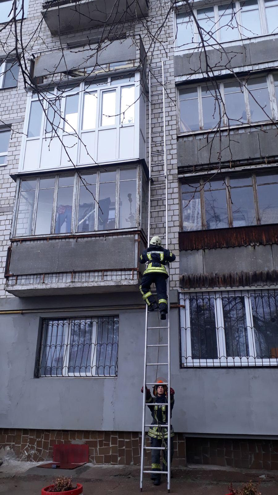Стався інсульт: в Ірпені рятувальники, піднявшись по драбині, визволили чоловіка з квартири -  - 0 02 0a 6e23815e03e7b0460d82777e45fa6a82ee5e6c51f2524043f6839d9e6b56a030 7461f75e