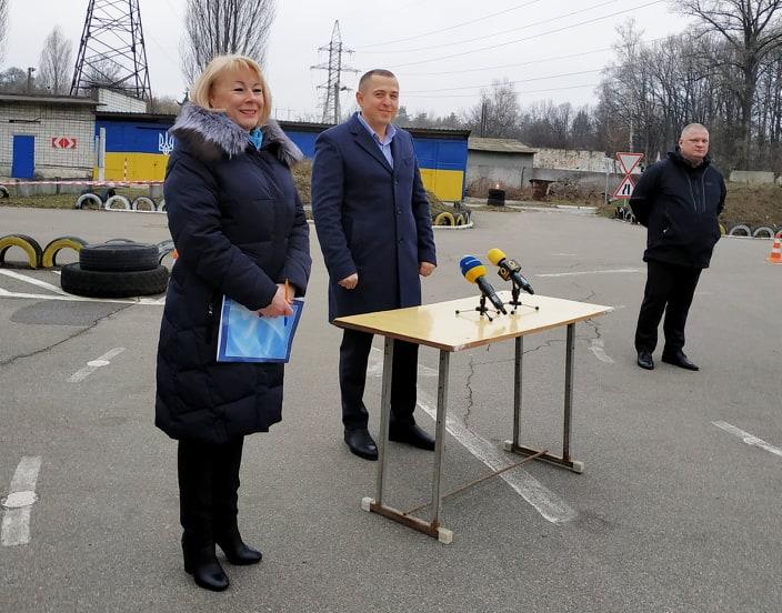 Водії складають екзамени «на камеру» - київщина, Вишгород - 0116 Videofiks PK