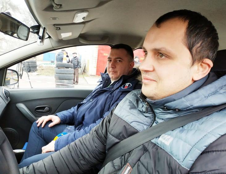 Водії складають екзамени «на камеру» - київщина, Вишгород - 0116 Viderfiks ekzamen