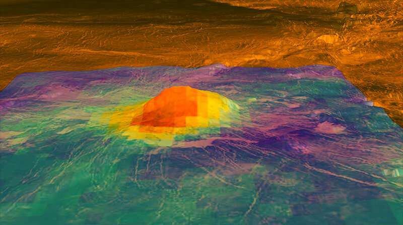 Знайдена друга «жива» планета крім Землі – Венера - Сонячна система, планета, Венера - 08 venera