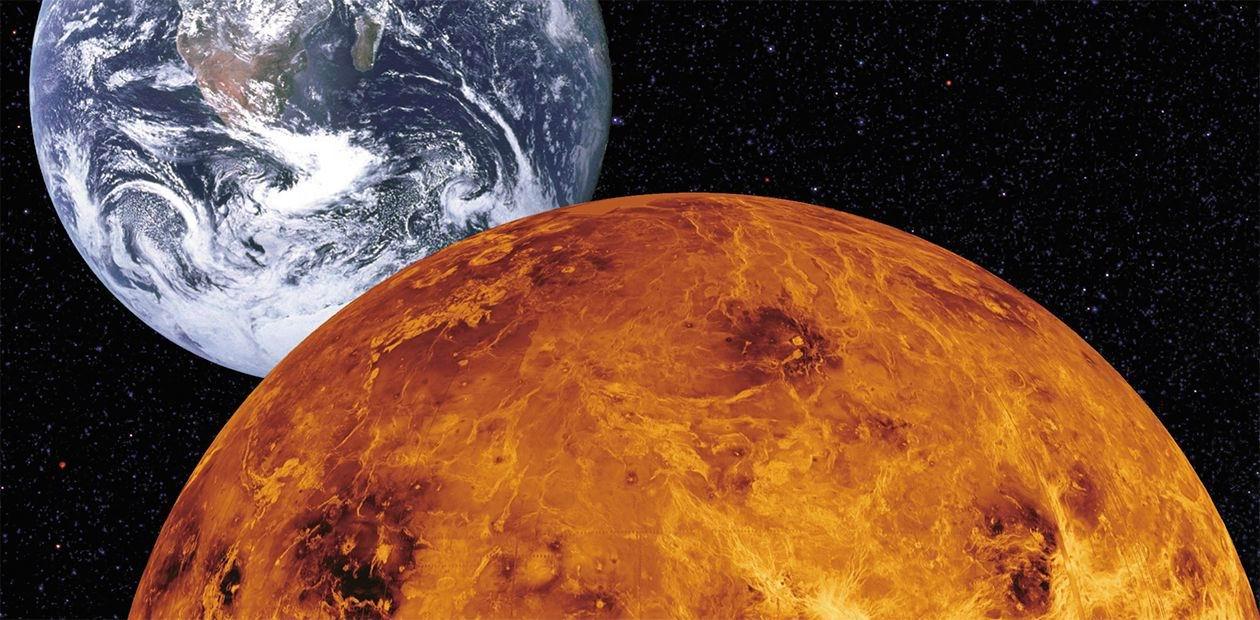 Знайдена друга «жива» планета крім Землі – Венера - Сонячна система, планета, Венера - 08 venera2