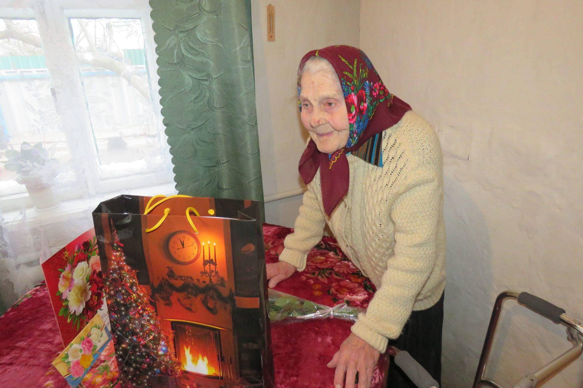 У Білій Церкві привітали 100-річну жительку міста - довгожителі, Біла Церква - 1 2000x1333