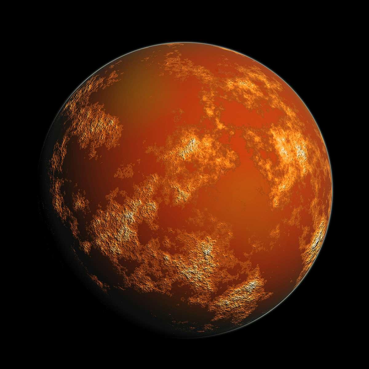 Вчені знайшли пояснення зникнення води на Марсі - Марс - 10 mars2