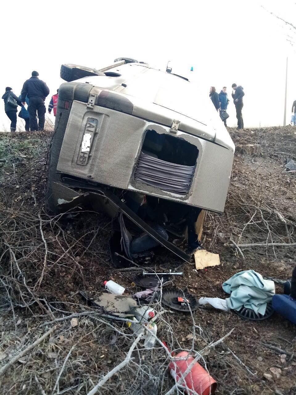 ДТП з постраждалими на автодорозі Київ-Чернігів -  - 111334