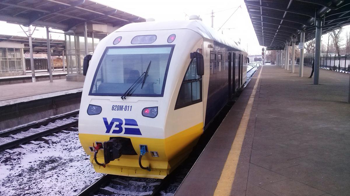 Новий потяг Kyiv Boryspil Express зламався не покинувши Київ -  - 1259794