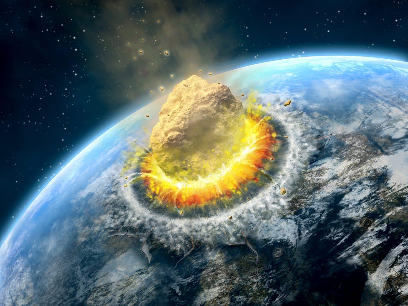 Вчені знайшли кратер від зіткнення Землі з одним з найбільших за всю історію метеоритом - метеорит, Земля - 13 krater