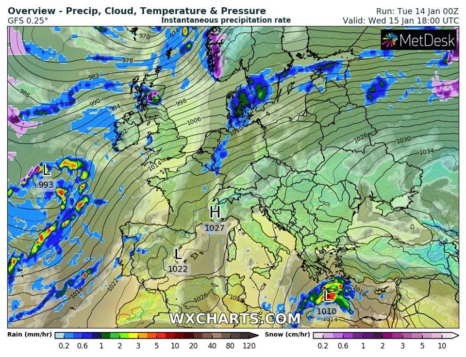 Сухо, тепло, але хмарно: погода на 15 січня на Київщині - погода - 15 pogoda