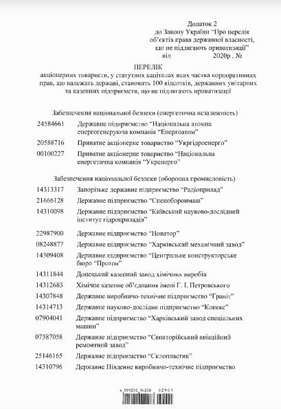 Уряд затвердив перелік підприємств, які не можна приватизувати - уряд, Гончарук - 15 uryad3