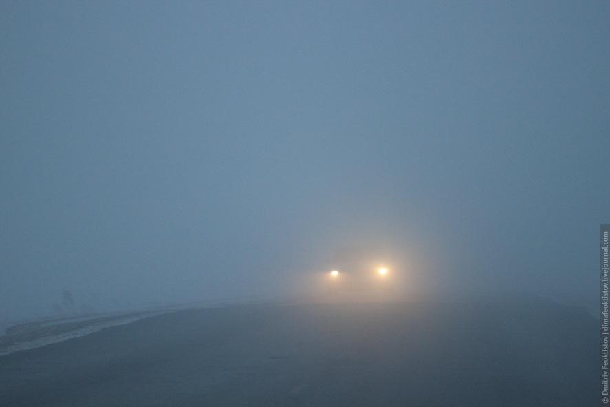Киян попередили про погану видимість на дорогах через туман - туман - 17 tuman