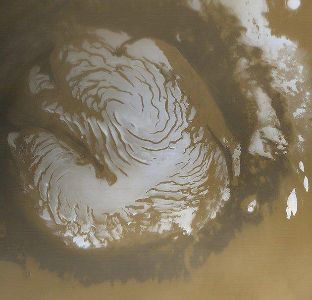 19_mars2 В ESA показали як виглядає полярна шапка Марса (ФОТО)