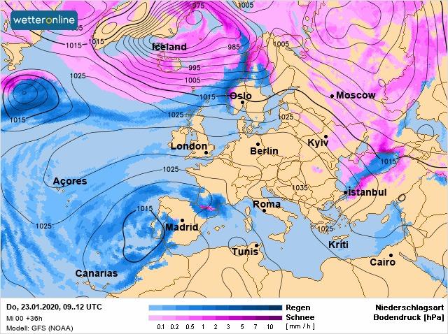 Погода на Київщині: 23 січня атмосферний фронт зменшить свій вплив, але шквали залишаться - погода - 23 pogoda
