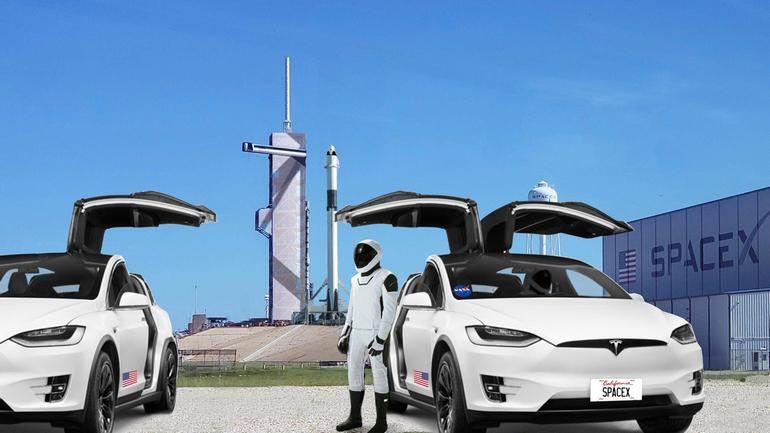 «З Тесли на Теслу»: Model X став офіційним «астрошаттлом» NASA - астронавти, Tesla - 23 tesla2