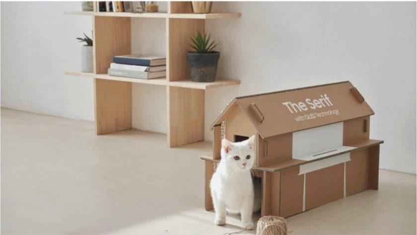 24_korobka Друге життя: Samsung представила екологічну упаковку-конструктор Eco-Package