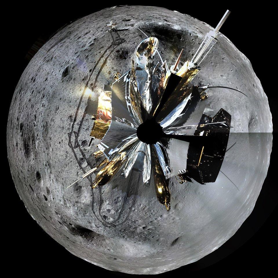 Таким його ви ще не бачили: нові світлини зворотного боку Місяця - Китай - 24 luna