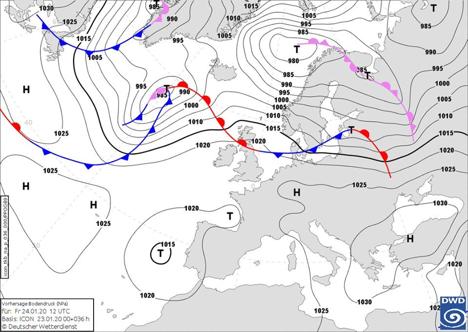 24 січня на Київщині буде хмарно, але без істотних опадів та шквалу - погода - 24 pogoda