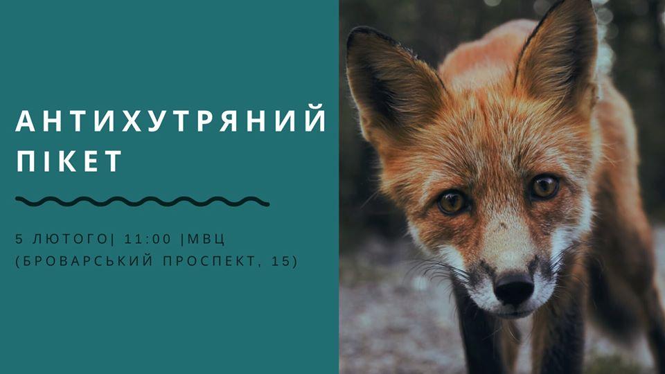 У столиці будуть пікетувати Kyiv Fashion Furs - антихутряна акція - 24 pyket