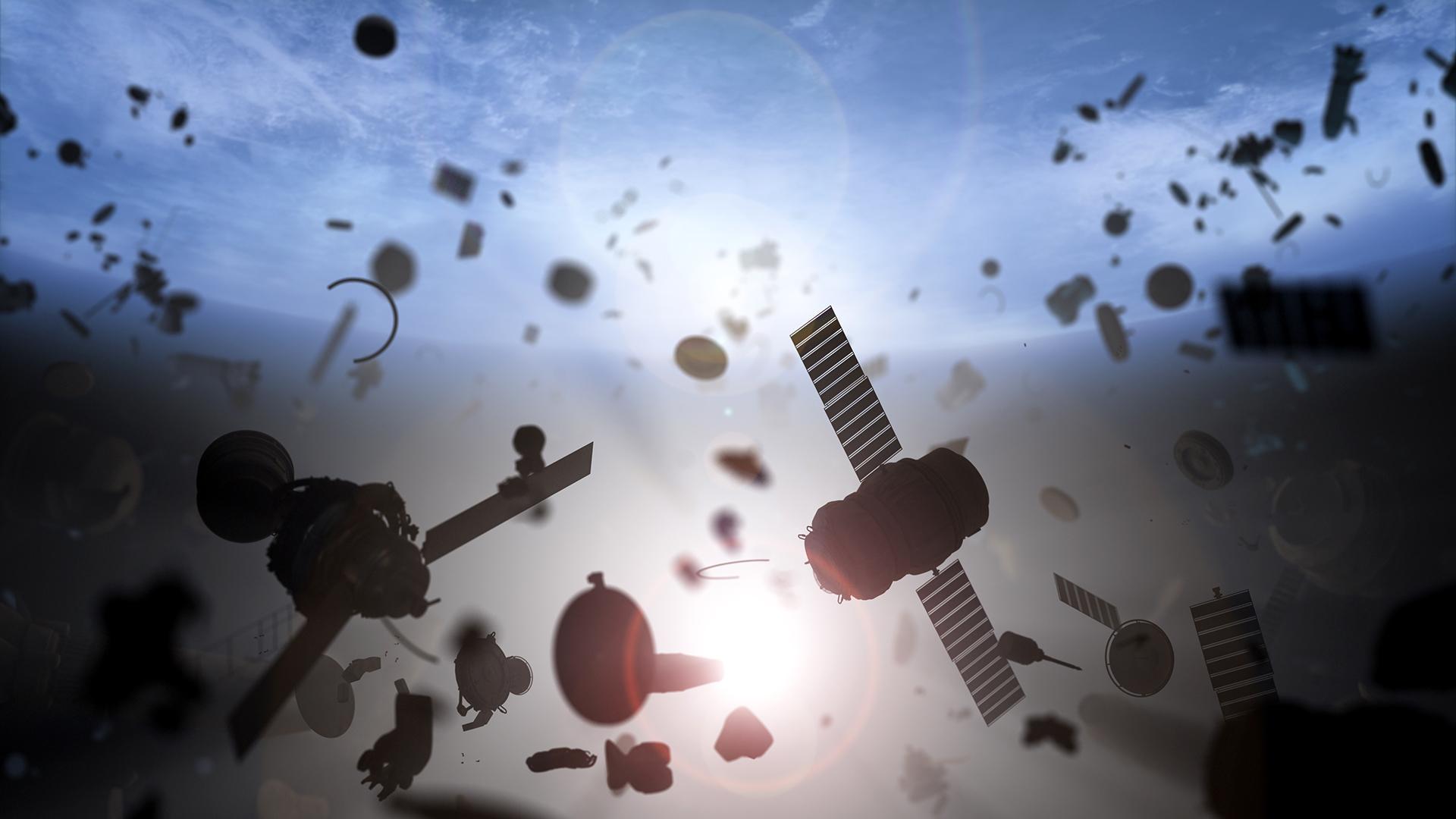 Двоє старих супутників можуть зіткнутися над США - США, космічне сміття, Земля - 28 musor