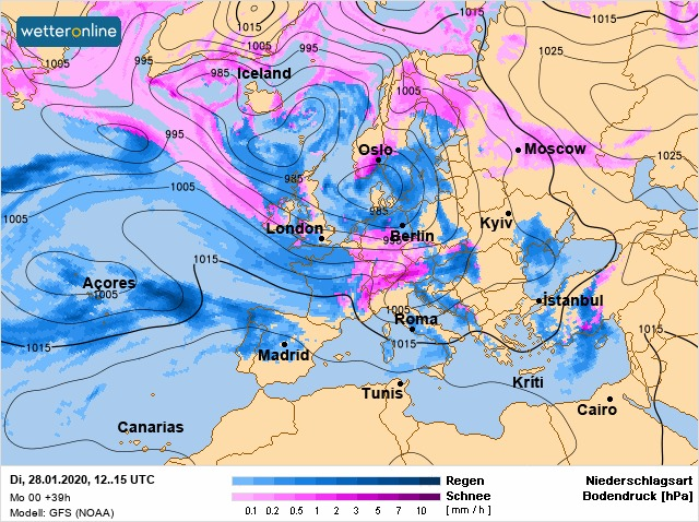 Погода на 28 січня на Київщині: без опадів і тепло - прогноз погоди, погода - 28 pogoda2