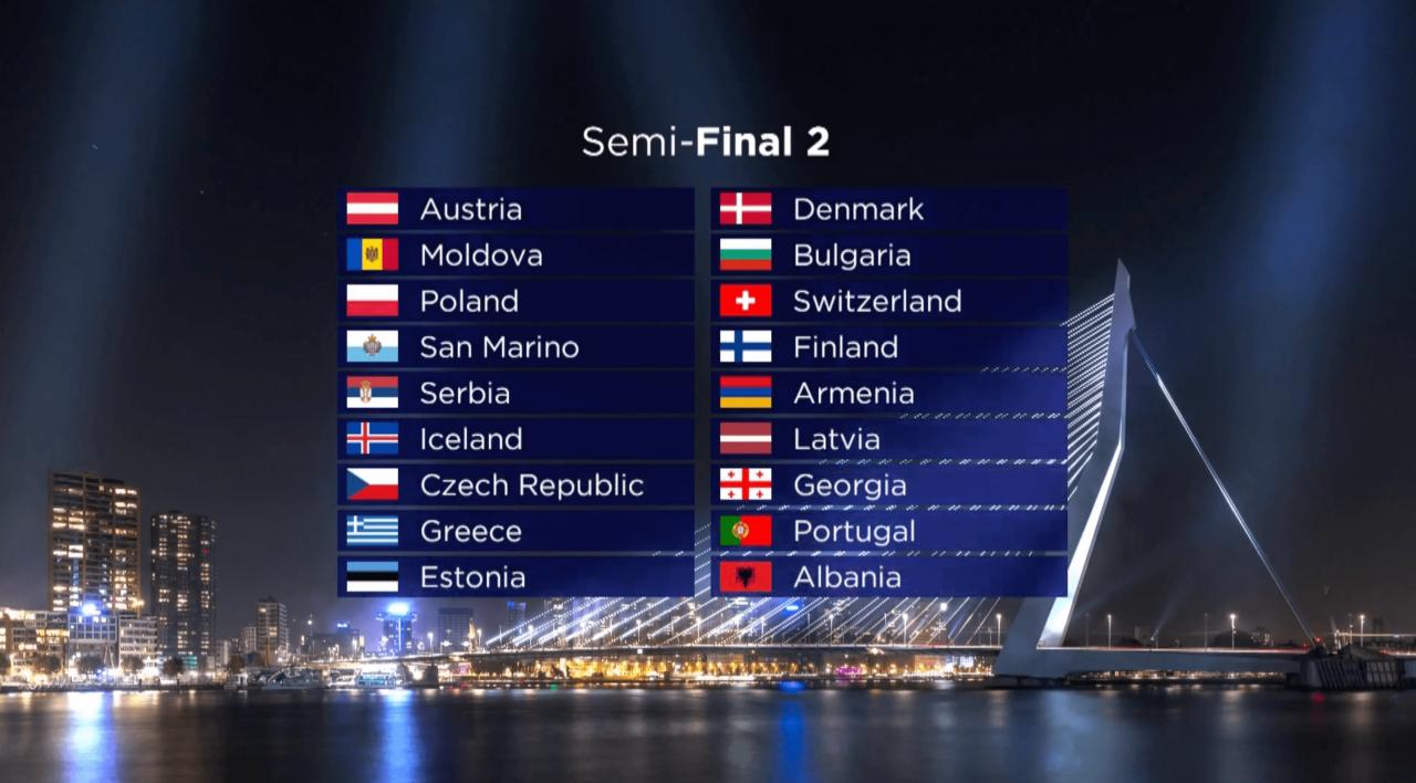 Україна виступить у першому півфіналі «Євробачення-2020» -  - 29.01.8