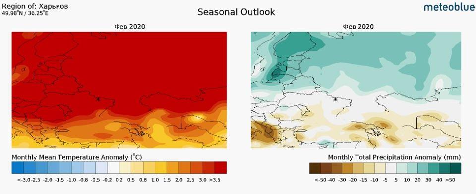 Довгостроковий прогноз на лютий: в Україні буде тепло - погода - 29 prognoz3