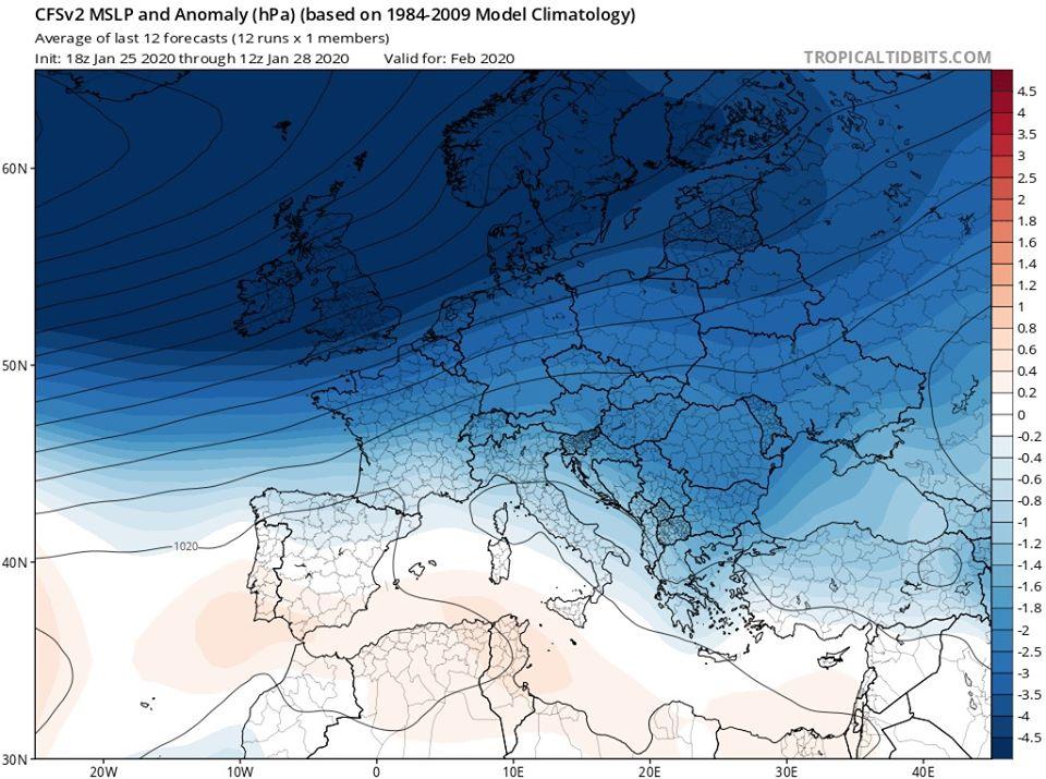 Довгостроковий прогноз на лютий: в Україні буде тепло - погода - 29 prognoz6