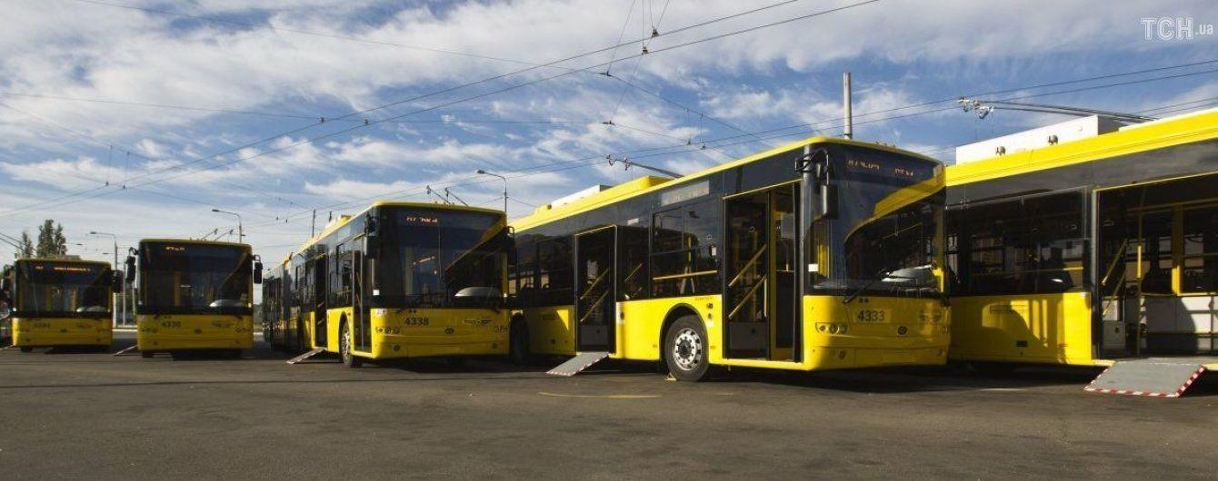 У Києві маршрути громадського транспорту переведені на оперативне положення -  - 2e8cc1482d83f352b12c39f747c2b899