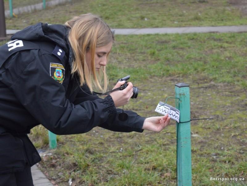 В одному із скверів Борисполя викрали 14 м паркану -  - 33980184